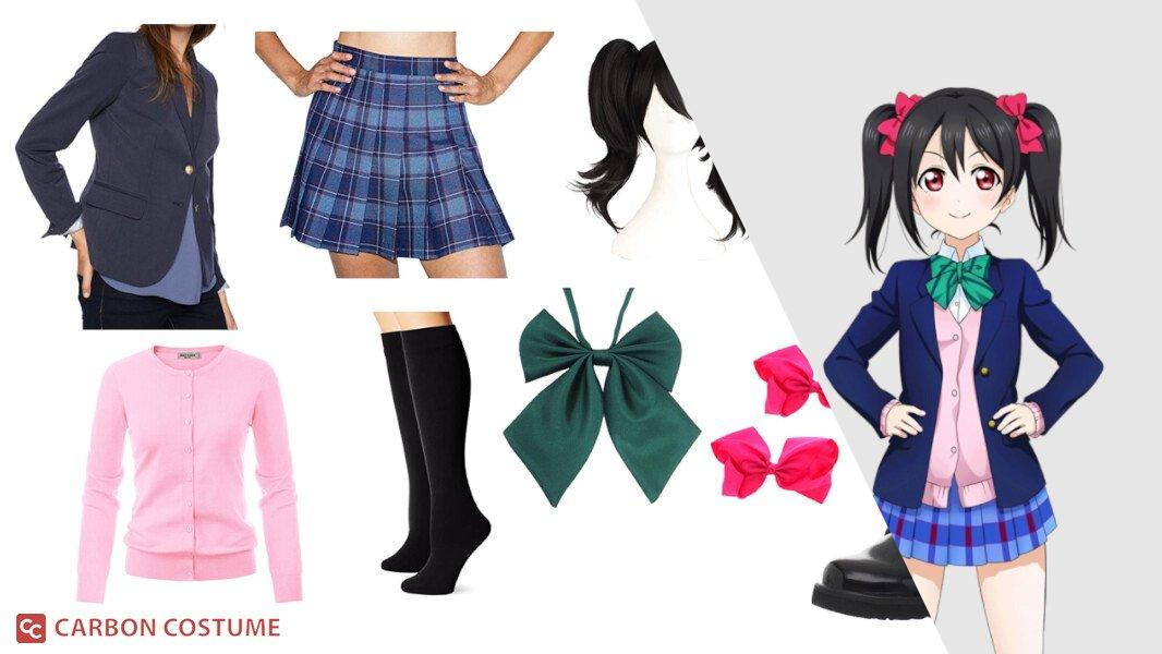 Nico Yazawa from Love Live! Cosplay Tutorial