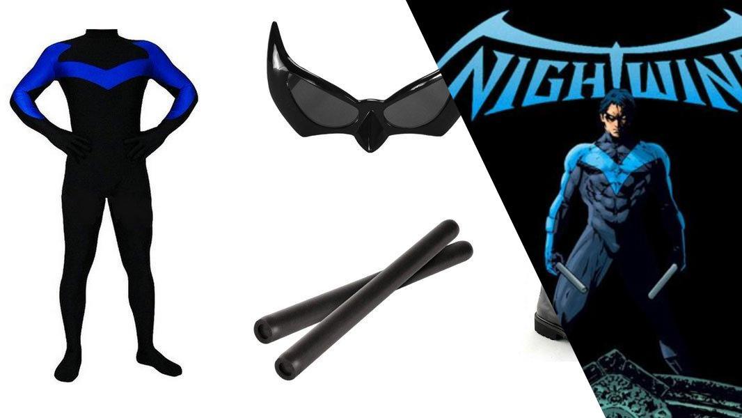 Nightwing Cosplay Tutorial