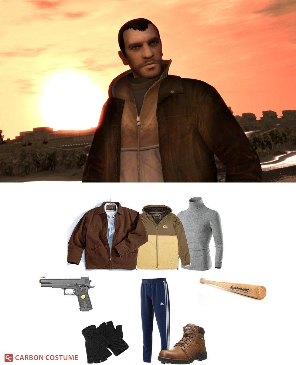 Niko Bellic from Grand Theft Auto 4 Cosplay Guide