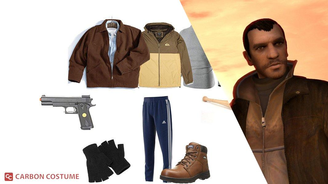 Niko Bellic from Grand Theft Auto 4 Cosplay Tutorial