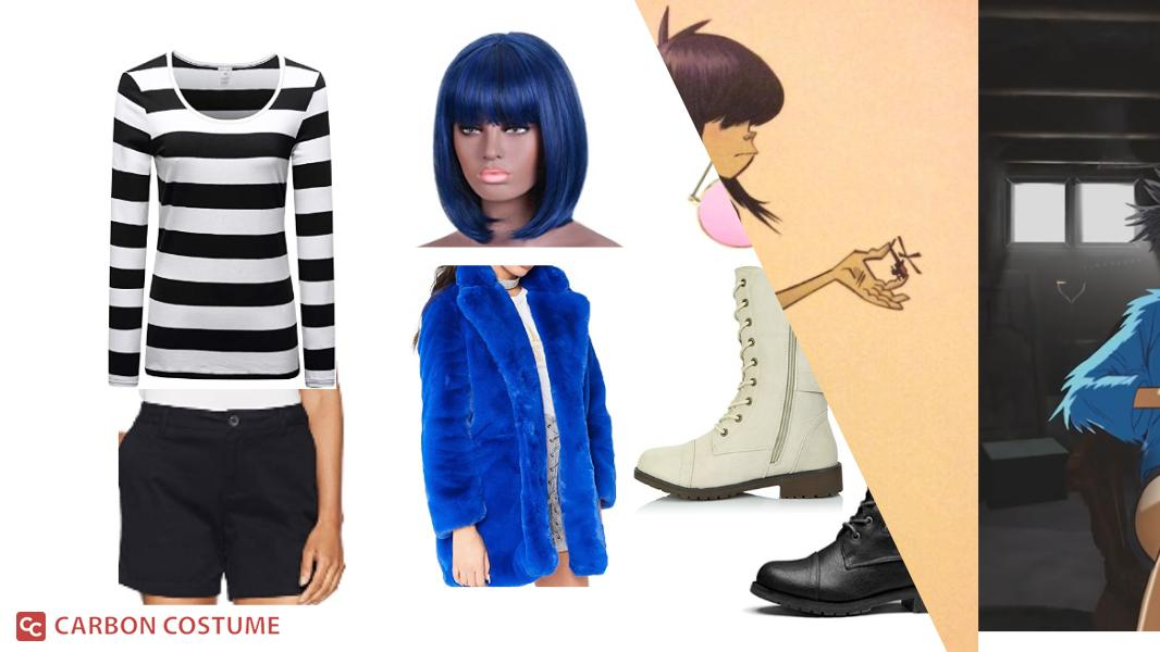 Noodle from Gorillaz Cosplay Tutorial