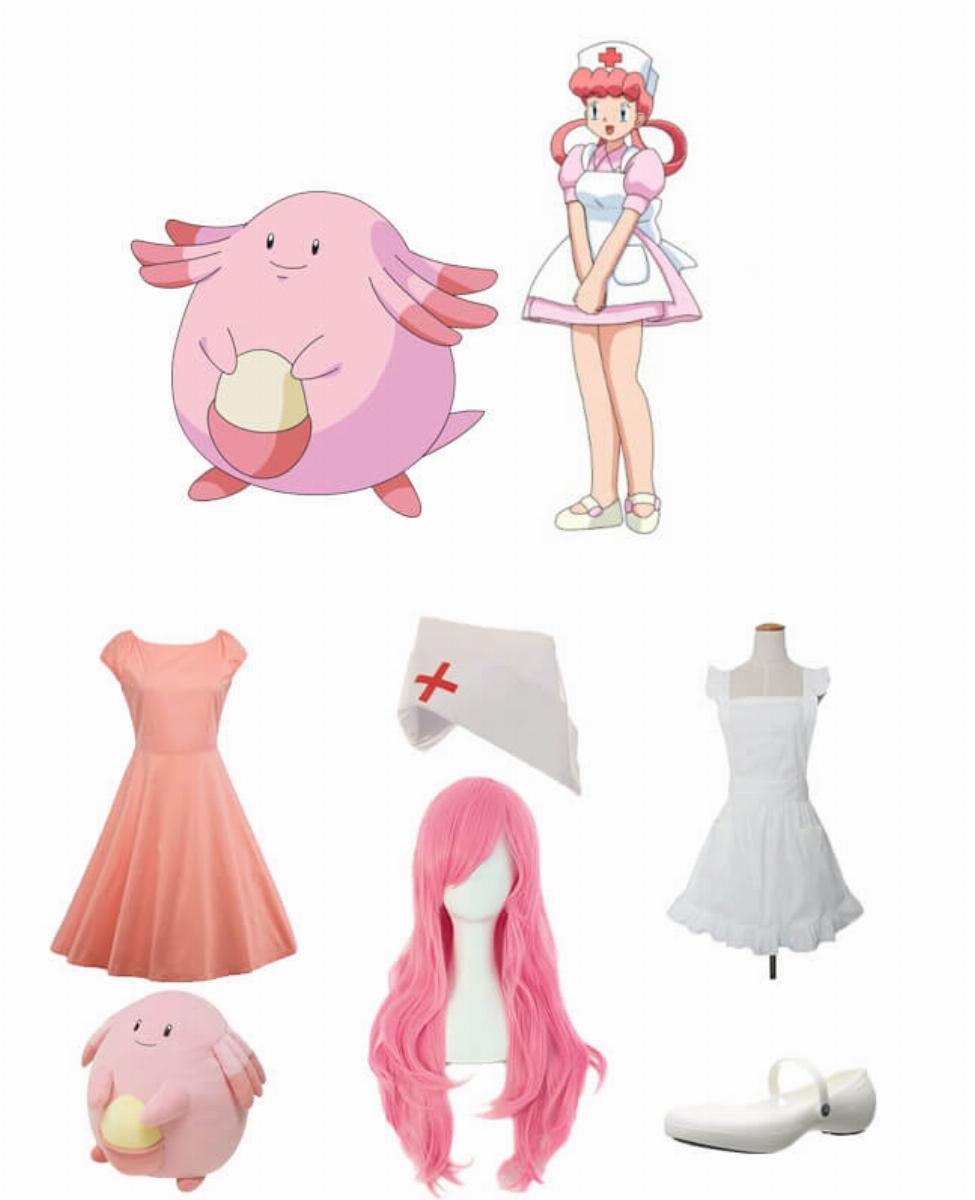Nurse Joy from Pokémon Cosplay Guide