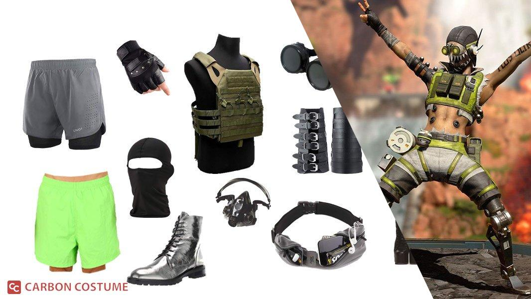 Octane from Apex Legends Cosplay Tutorial