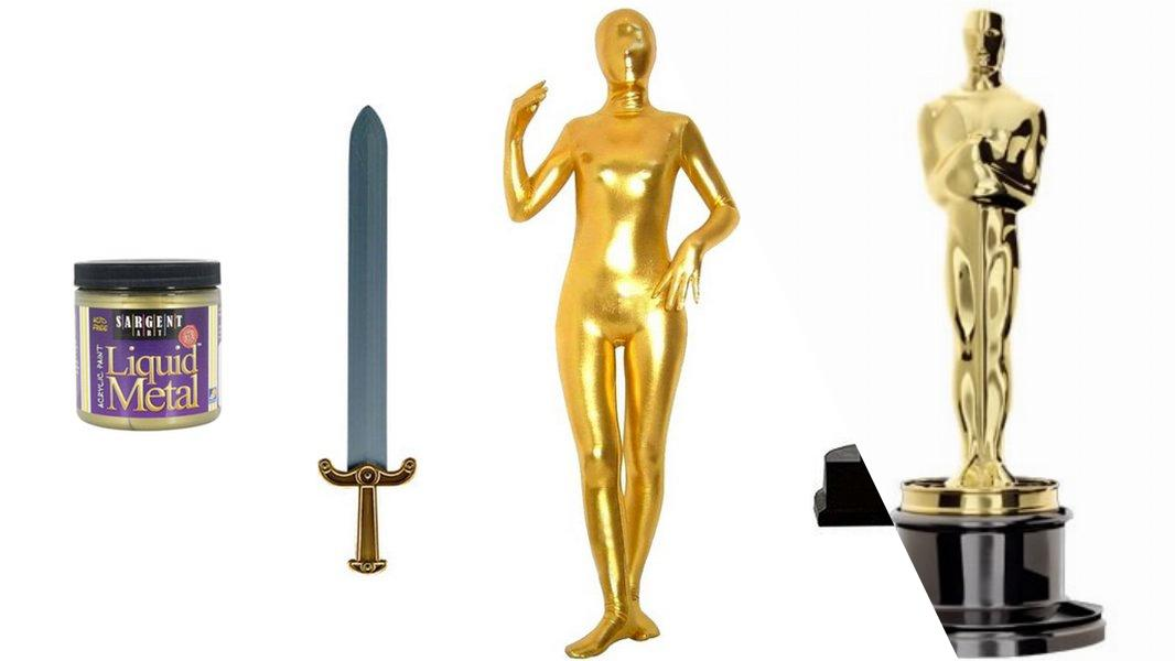 Oscars Statuette Cosplay Tutorial