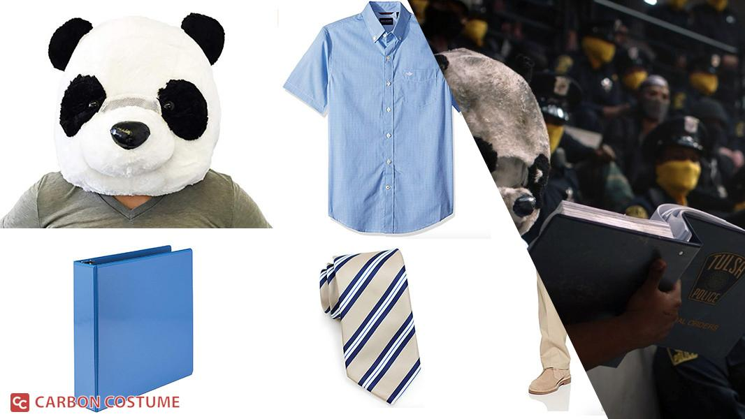 Panda from Watchmen Cosplay Tutorial