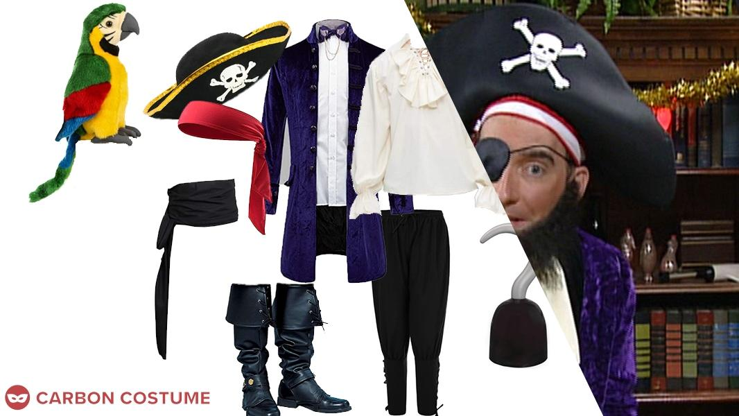 Patchy the Pirate from SpongeBob SquarePants Cosplay Tutorial
