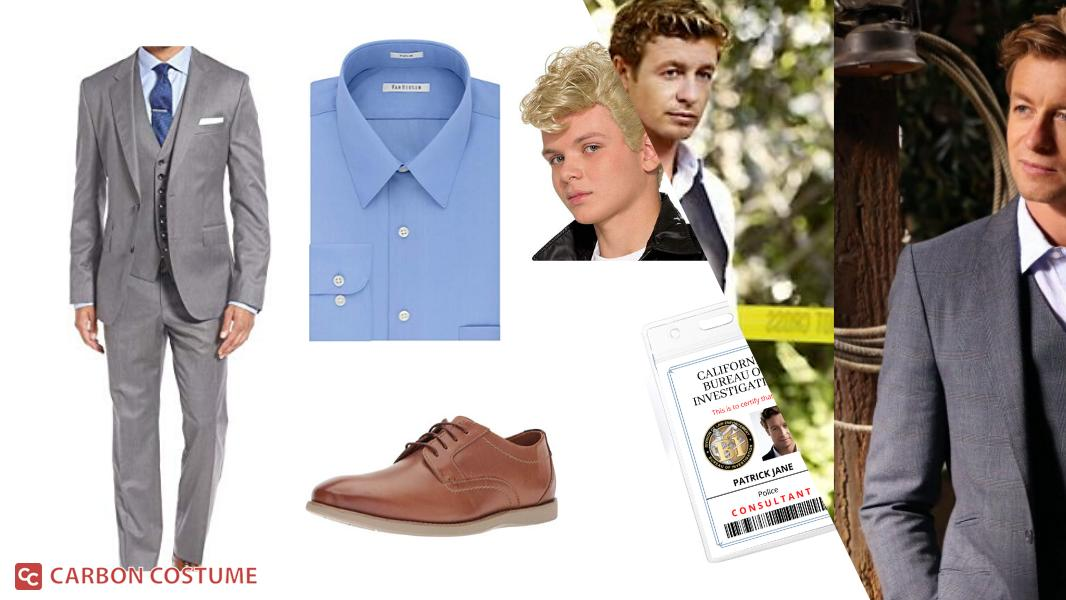 Patrick Jane from The Mentalist Cosplay Tutorial