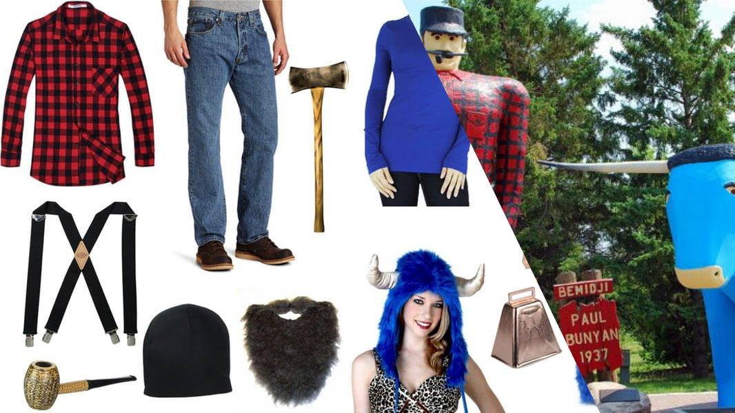 Paul Bunyan and Babe the Blue Ox Cosplay Tutorial