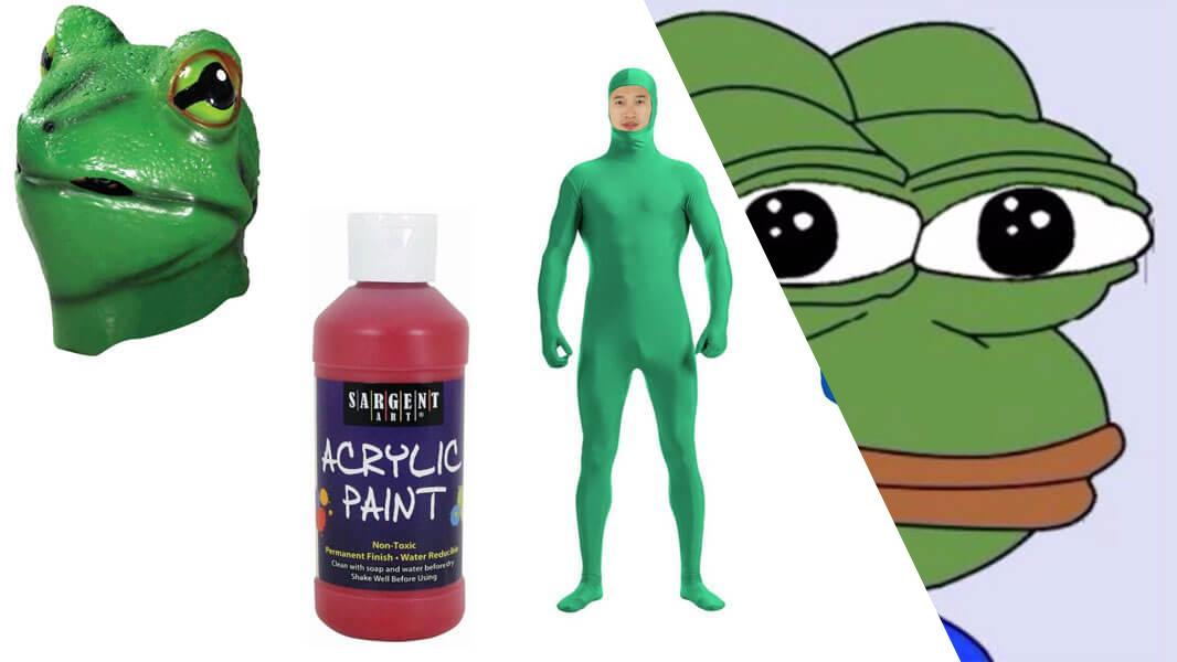 Pepe the Frog Cosplay Tutorial