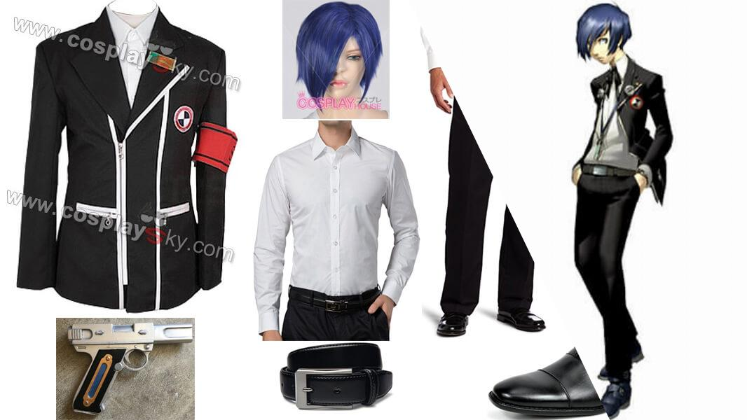 Persona 3 Protagonist Cosplay Tutorial