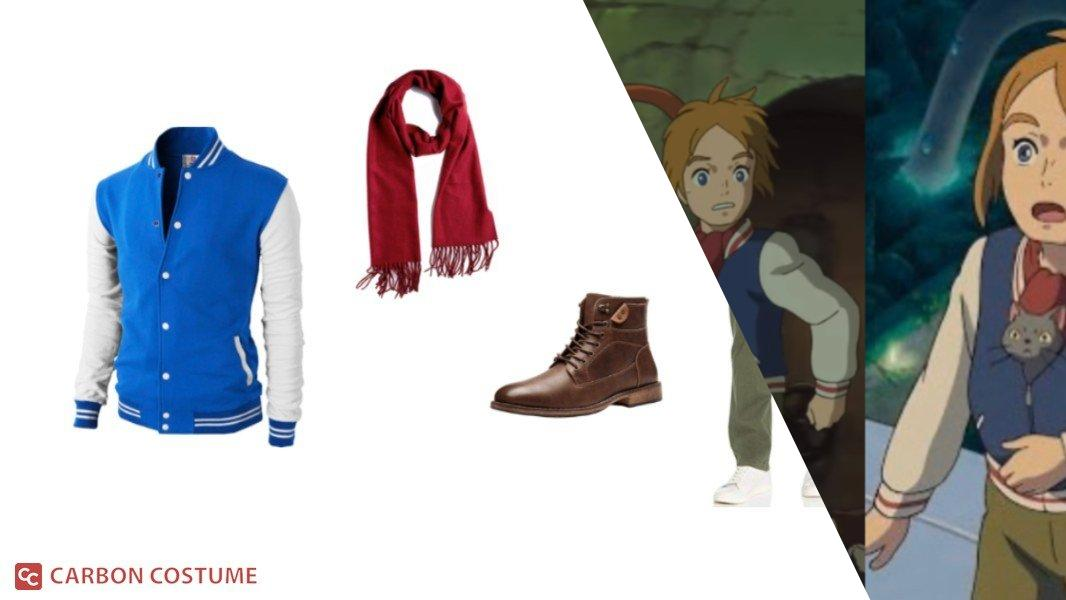 Peter from Mary and The Witch's Flower Cosplay Tutorial