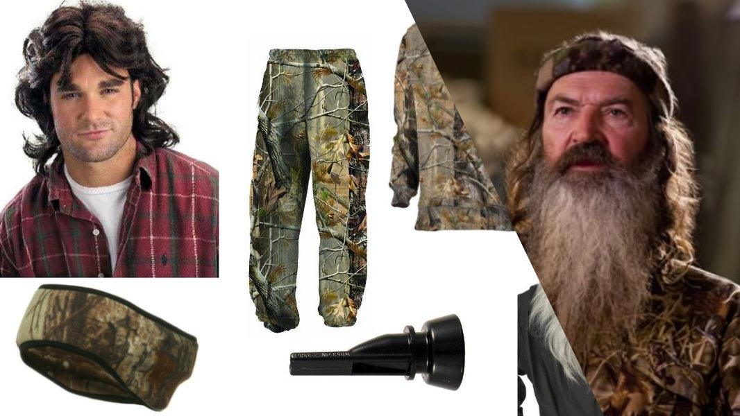 Phil Robertson Cosplay Tutorial