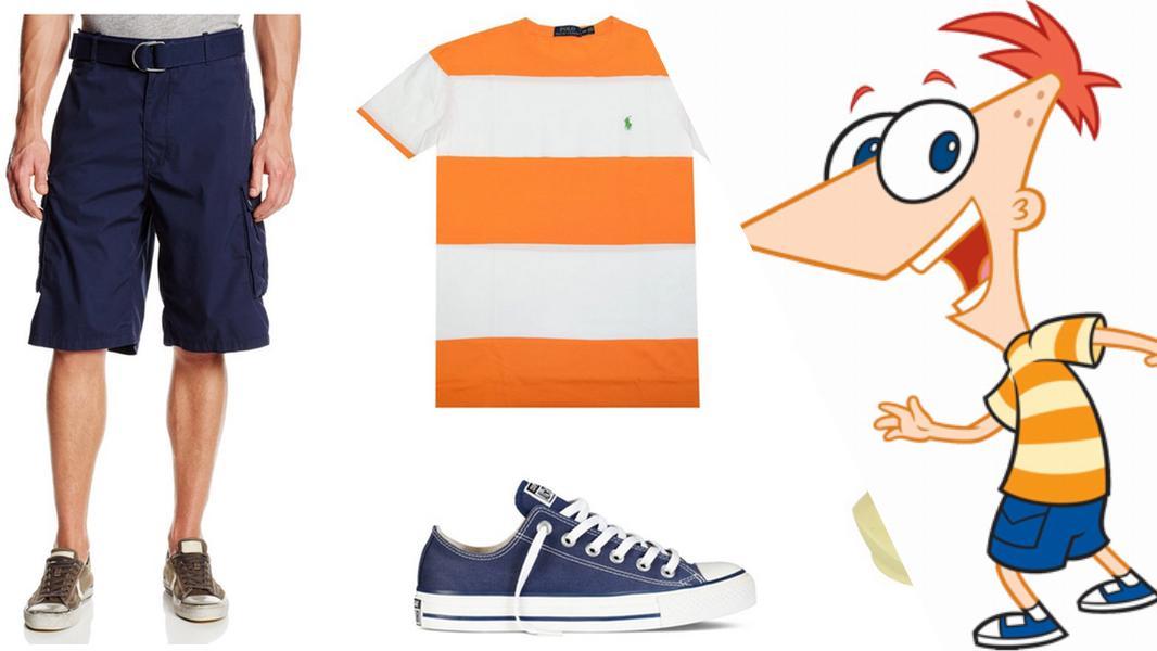 Phineas Flynn Cosplay Tutorial