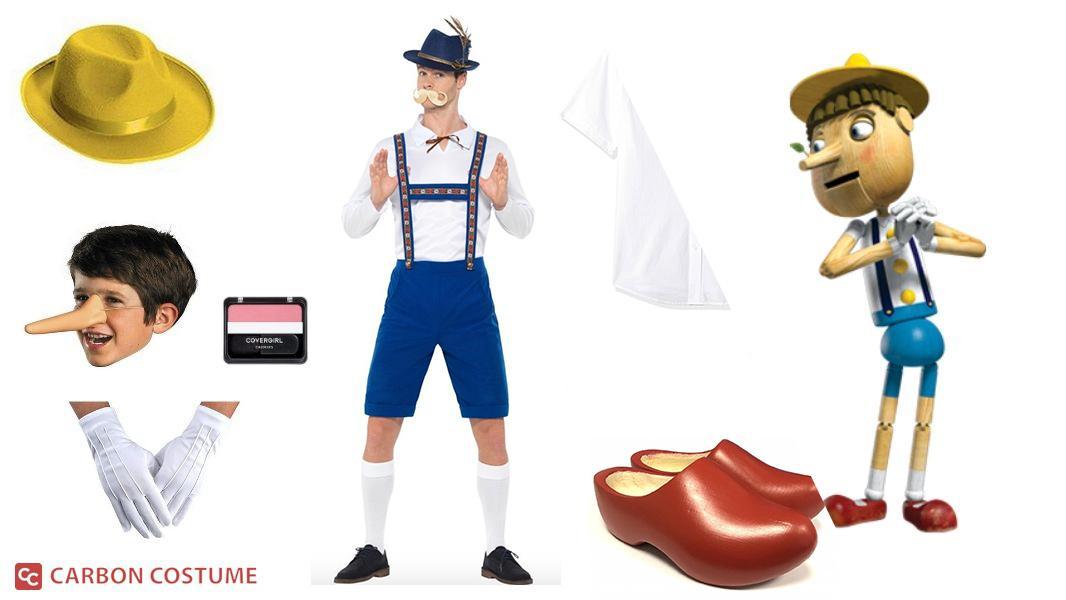 Pinocchio from Shrek Cosplay Tutorial