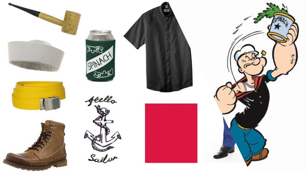 Popeye Cosplay Tutorial