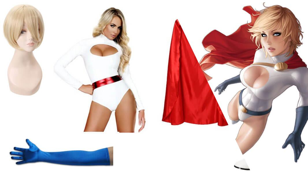 Power Girl Cosplay Tutorial