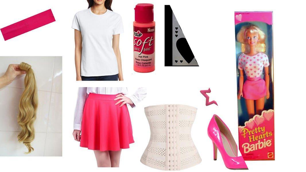 Pretty Hearts Barbie Cosplay Tutorial
