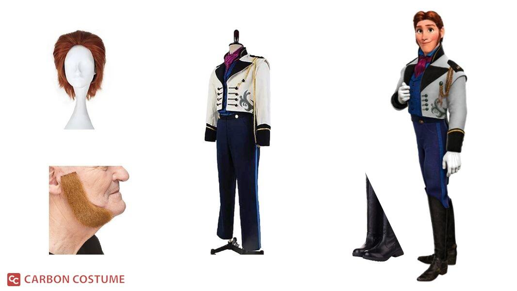 Prince Hans of the Southern Isles Cosplay Tutorial