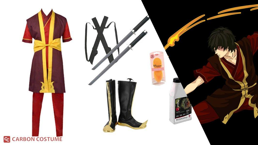 Prince Zuko from Avatar: The Last Airbender Cosplay Tutorial