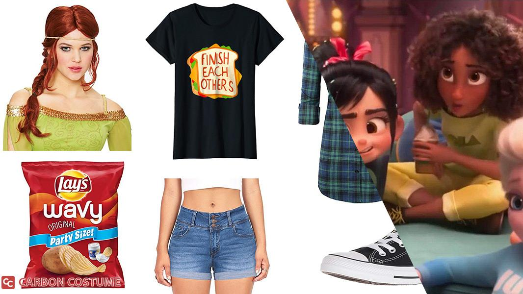 Princess Anna from Wreck-It Ralph 2 Cosplay Tutorial