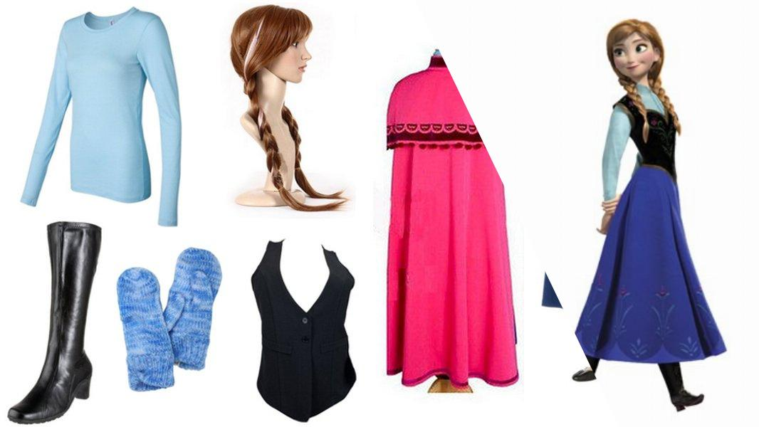 Princess Anna of Arendelle Cosplay Tutorial