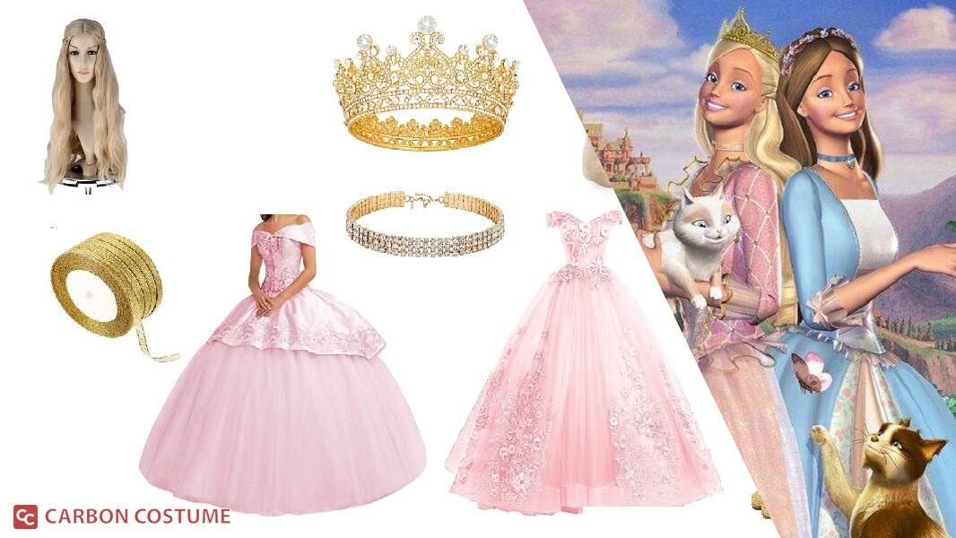 Princess Annalise from Barbie as The Princess and the Pauper Cosplay Tutorial