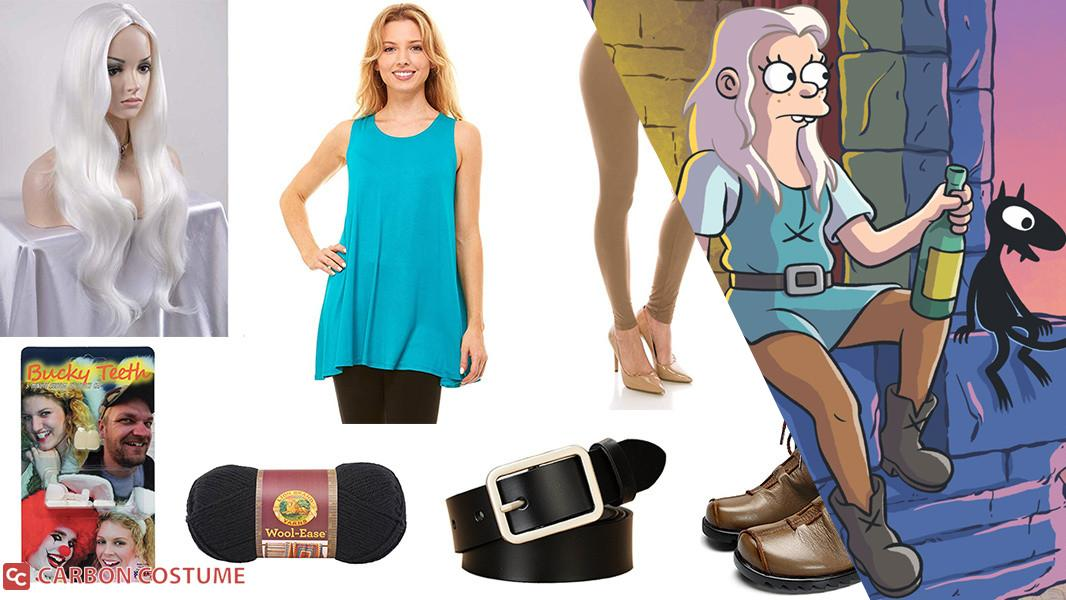 Princess Bean from Disenchantment Cosplay Tutorial