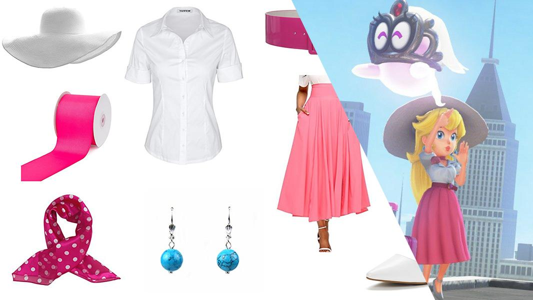 Princess Peach from New Donk City Cosplay Tutorial