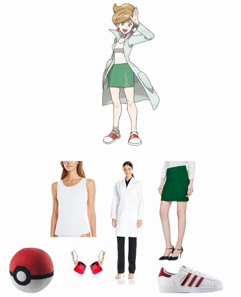Professor Juniper in Pokémon Cosplay Guide
