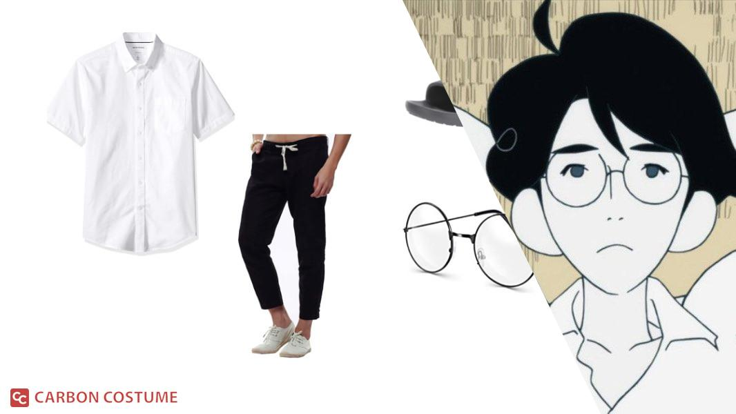 Protagonist from The Tatami Galaxy Cosplay Tutorial