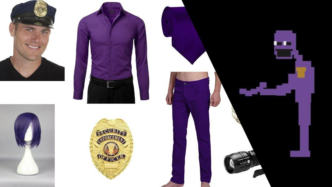 Purple Man from Five Nights at Freddy's Cosplay Tutorial