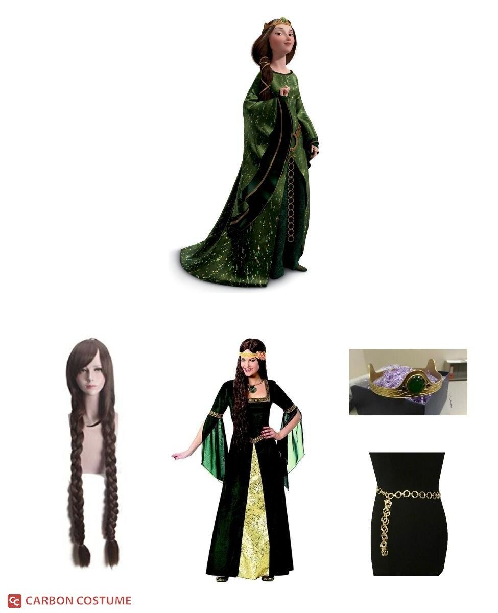 Queen Elinor from Brave Cosplay Guide