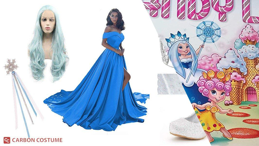 Queen Frostine from Candyland Cosplay Tutorial