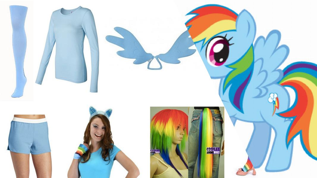 Rainbow Dash Cosplay Tutorial