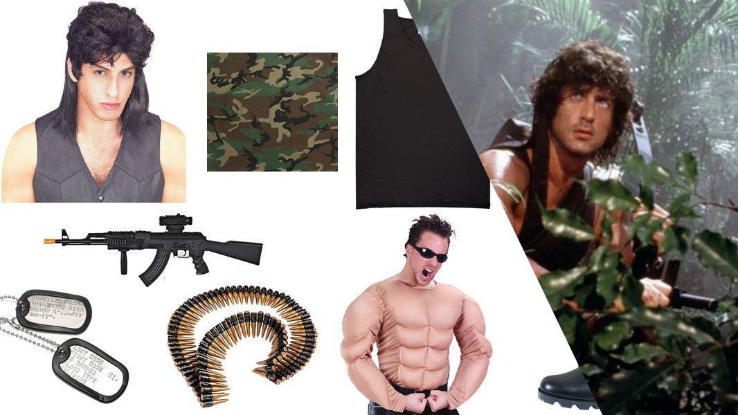 Rambo Cosplay Tutorial