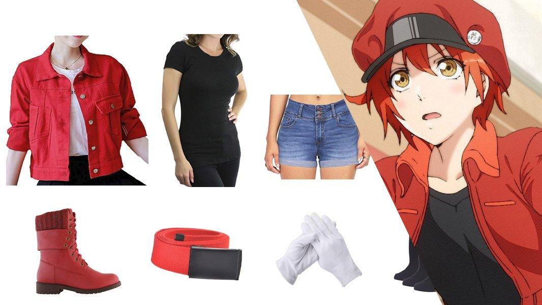 Red Blood Cell Cosplay Tutorial