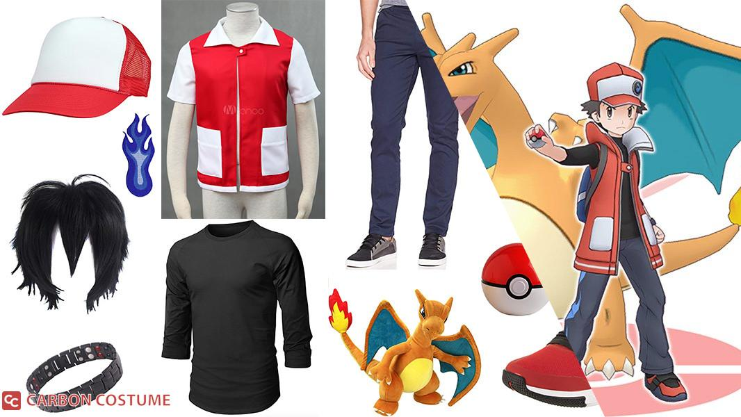 Red from Pokemon Masters Cosplay Tutorial