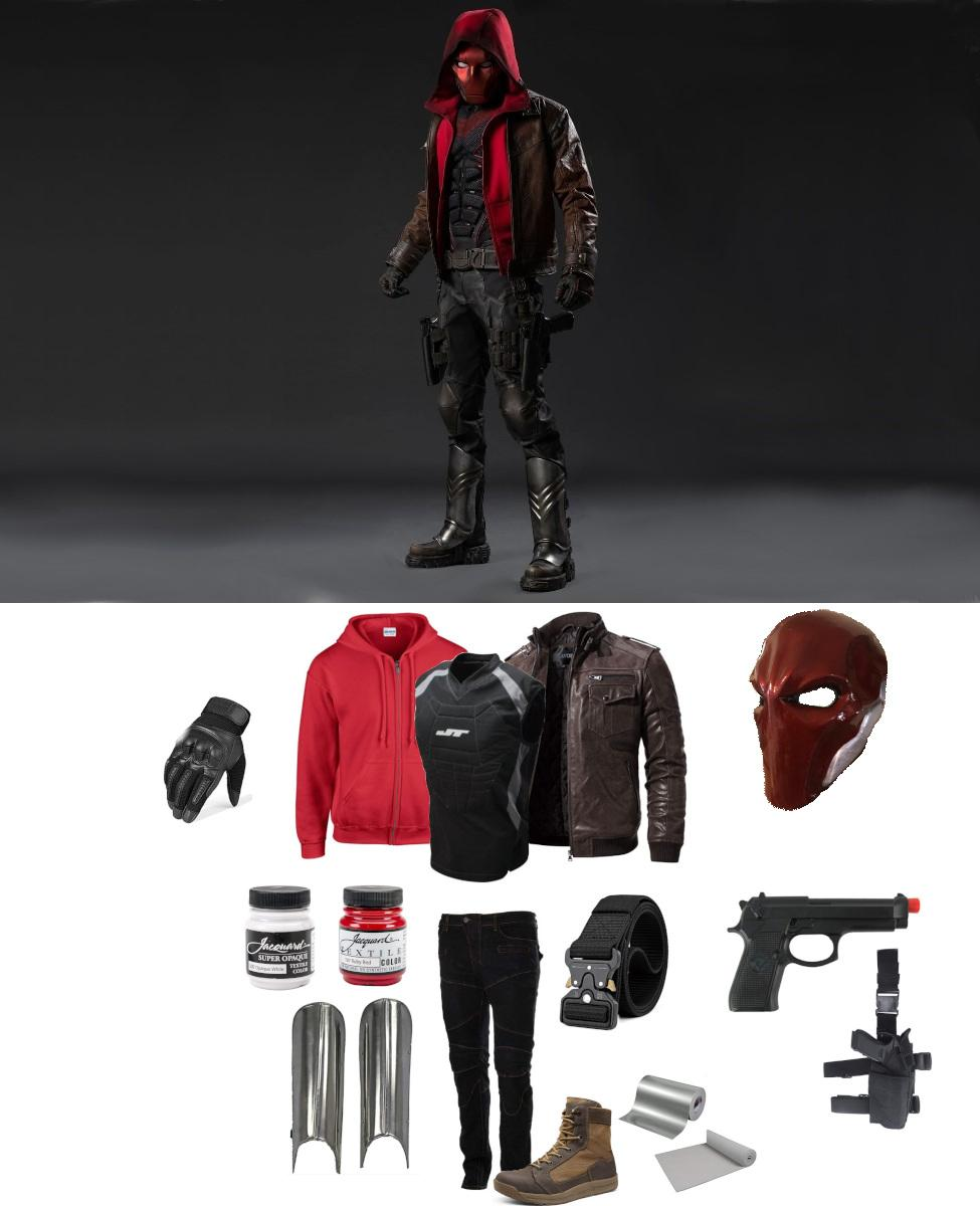 Red Hood from Titans Cosplay Guide