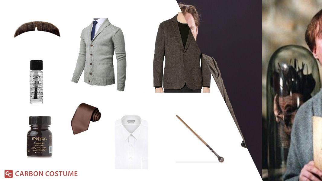 Remus Lupin from Harry Potter Cosplay Tutorial