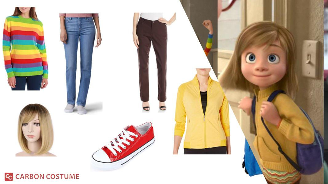 Riley Andersen from Inside Out Cosplay Tutorial