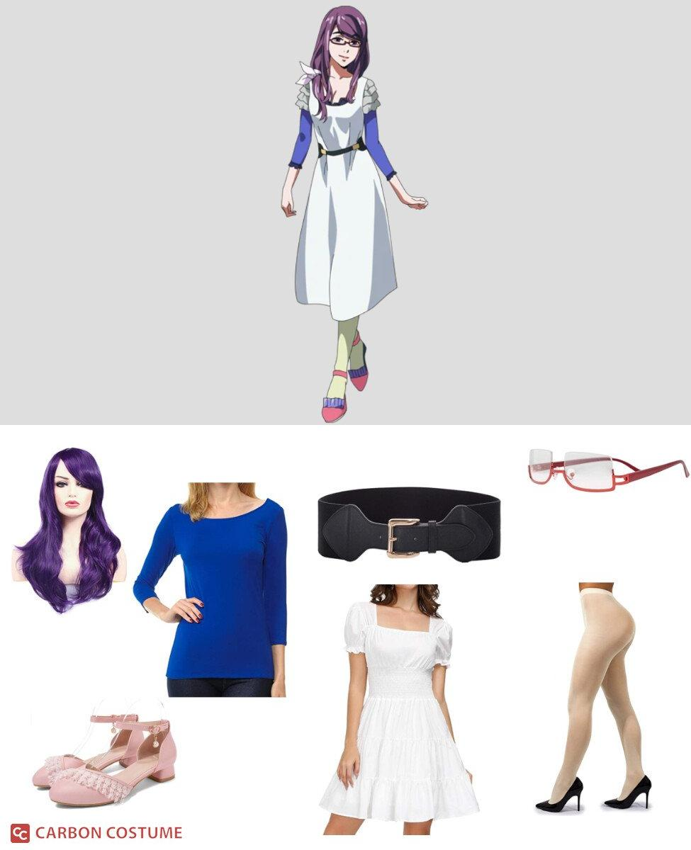 Rize Kamishiro from Tokyo Ghoul Cosplay Guide