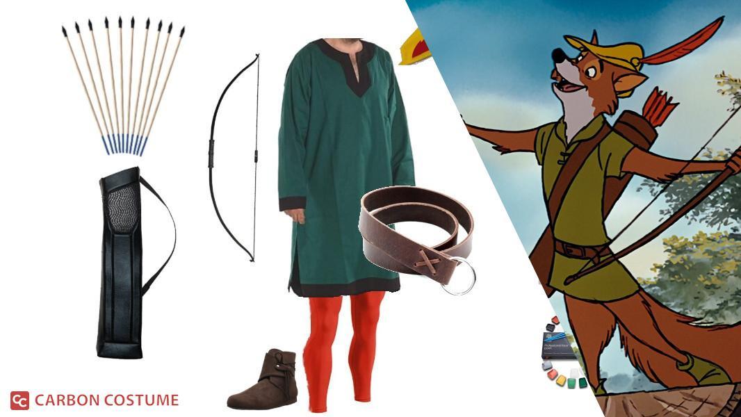 Robin Hood from Disney's Robin Hood (1973) Cosplay Tutorial