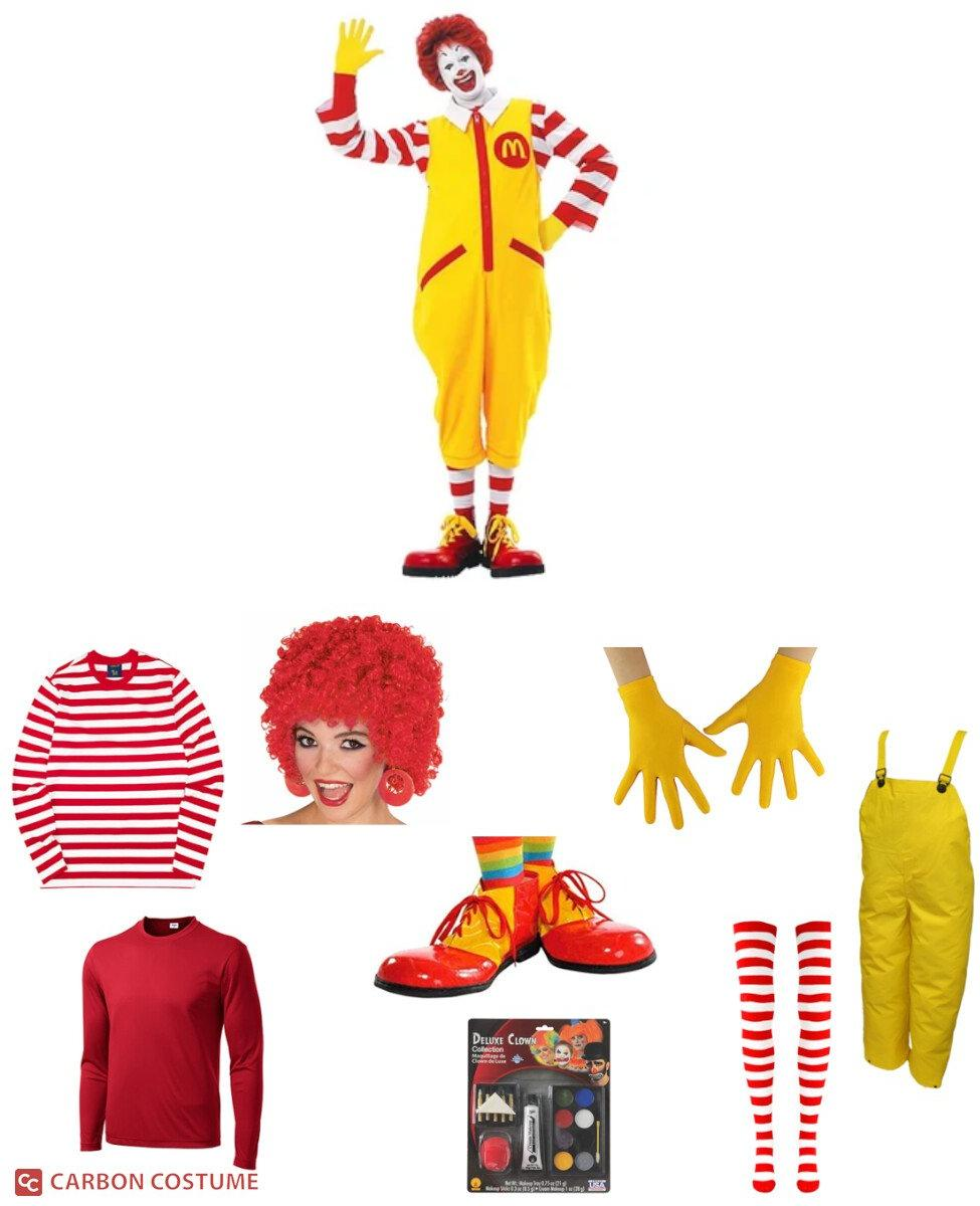 Ronald McDonald Cosplay Guide