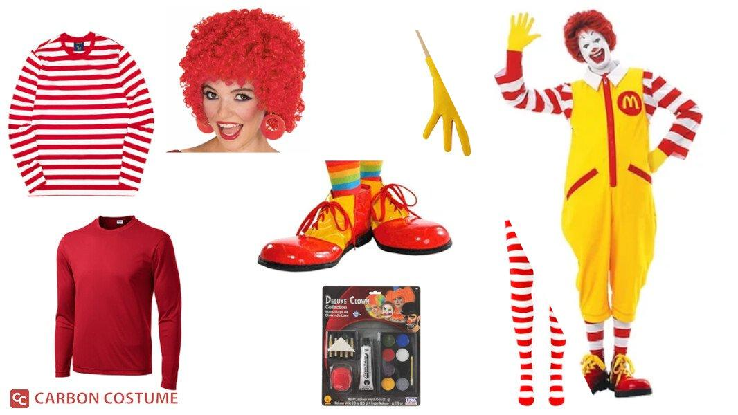 Ronald McDonald Cosplay Tutorial