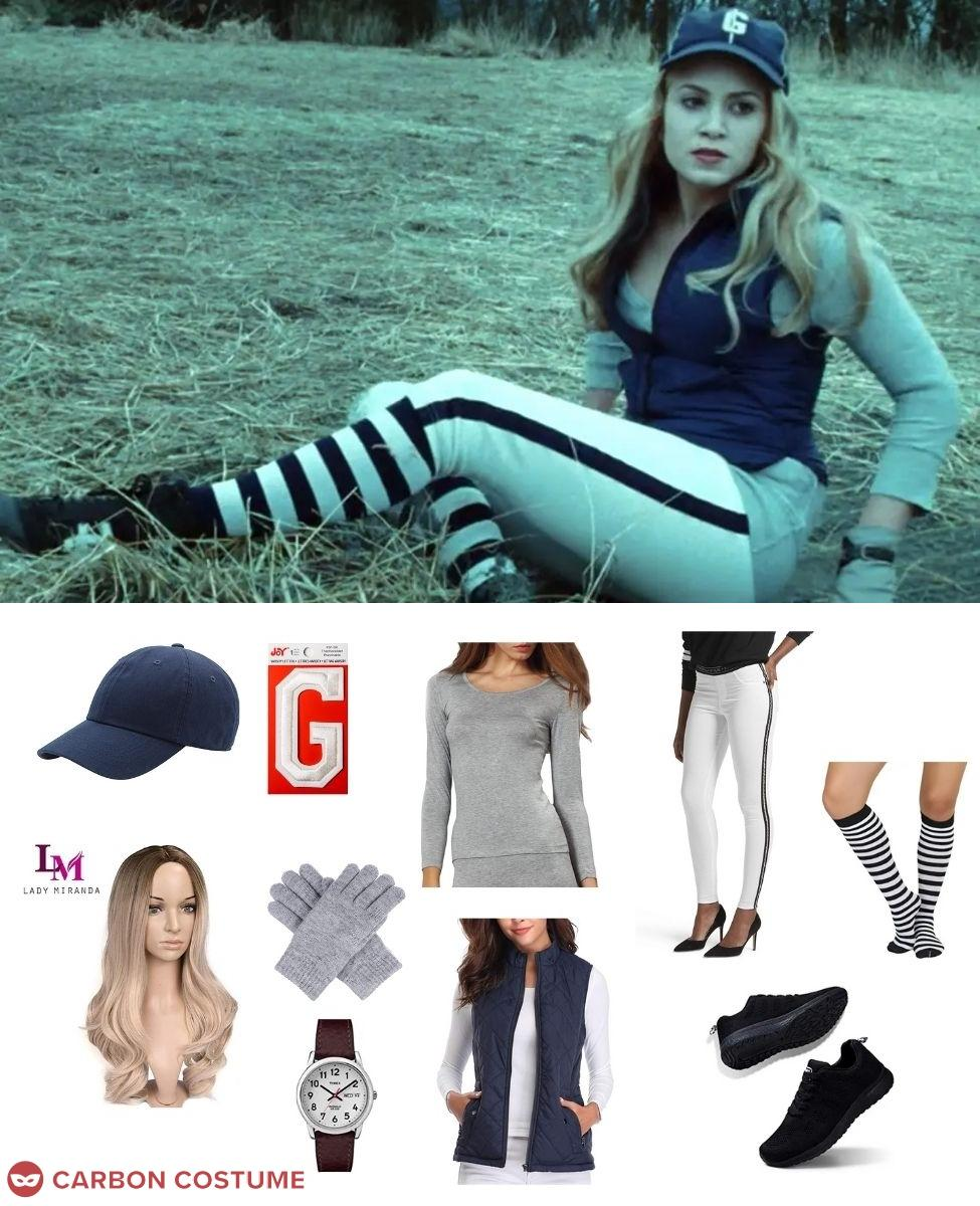 Rosalie Hale in the Baseball Scene from Twilight Cosplay Guide