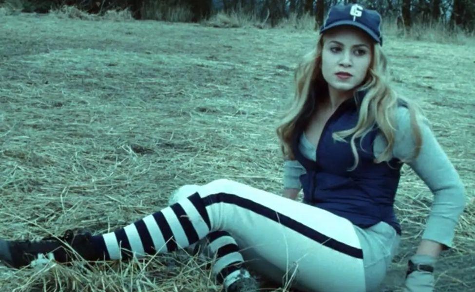 Rosalie Hale in the Baseball Scene from Twilight