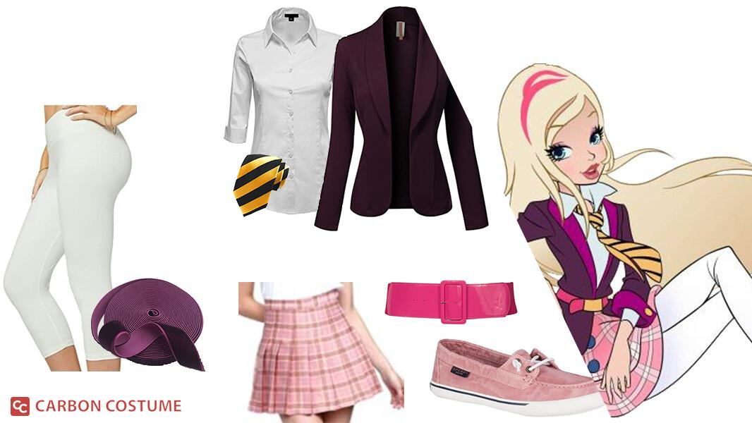 Rose Cinderella from Regal Academy Cosplay Tutorial