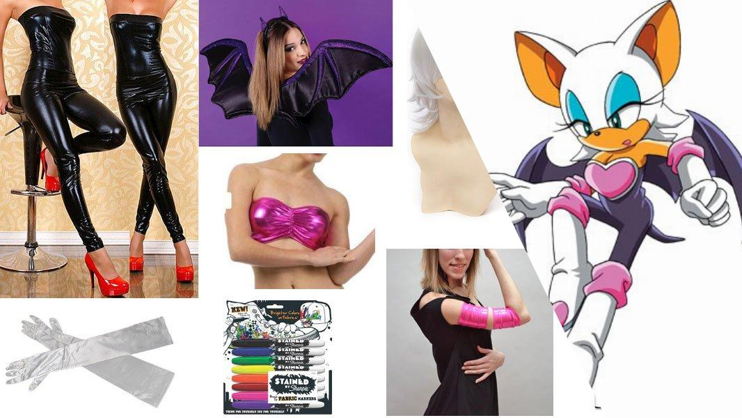 Rouge the Bat Cosplay Tutorial
