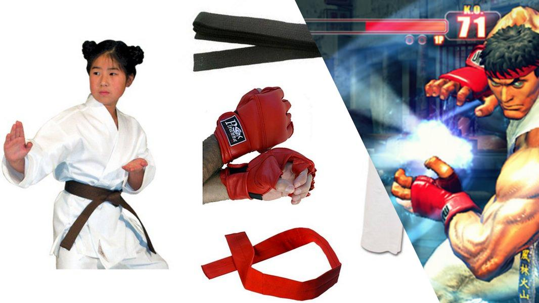 Ryu Cosplay Tutorial