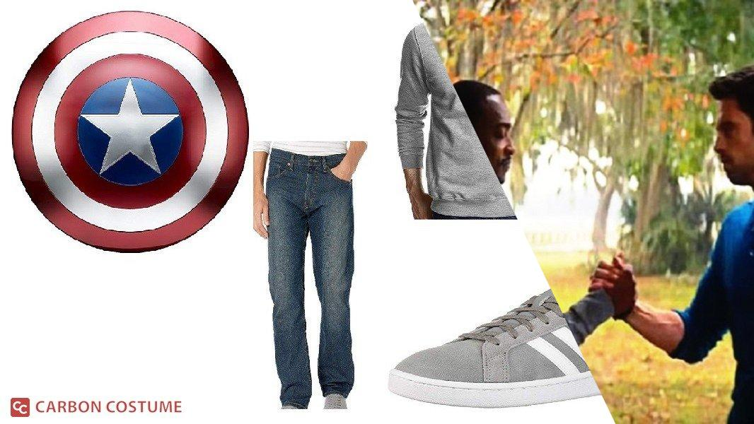 Sam Wilson from Falcon and the Winter Soldier Cosplay Tutorial